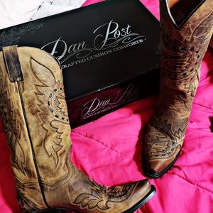 New Dan Post cowgirl boots